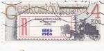 Stamps Czechoslovakia -  CENTENARIO CORREO POSTAL