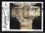 Stamps : Europe : Spain :  El románico aragonés - Capitel de la Iglesia de Santiago de Jaca