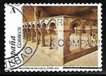 Stamps Spain -  El románico aragonés - Mnasterio de San Juan de la Peña