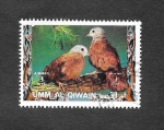 Stamps : Asia : United_Arab_Emirates :  Mi1242A - Aves