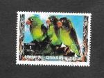 Sellos del Mundo : Asia : Emiratos_Árabes_Unidos : Mi1250A - Aves