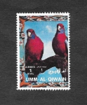 Sellos de Asia - Emiratos Árabes Unidos -  Aves