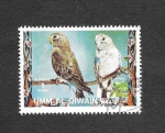 Stamps United Arab Emirates -  Mi1252A - Aves