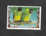 Sellos del Mundo : Asia : Emiratos_Árabes_Unidos : Mi1265A - Aves
