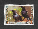 Stamps : Asia : United_Arab_Emirates :  Mi1410A - Aves