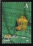 Stamps : Europe : Spain :  Cerámica - Pinturas de Antonio Miguel González