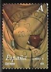 Stamps of the world : Spain :   Cerámica - Pinturas de Antonio Miguel González