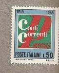 Stamps Italy -  Cuentas corrientes postales