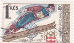 Stamps Czechoslovakia -  OLIMPIADA INNSBRUCK
