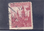Stamps Czechoslovakia -  CATEDRAL