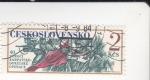Stamps Czechoslovakia -  40 ANIVERSARIO OPERACIONES EN LOS CARPATOS