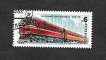Sellos de Europa - Rusia -  Tren