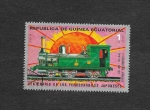 Sellos de Africa - Guinea Ecuatorial -  Centenario de los Ferrocarriles Japoneses