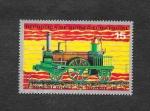 Stamps Equatorial Guinea -  Centenario de los Ferrocarriles Japoneses