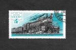 Stamps Russia -  4736 - Locomotora