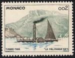 Stamps Monaco -  El vapor de paletas Palmaria