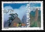 Sellos de Europa - España -  Naturaleza - Parque Nacional de la Caldera de Taburiente