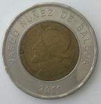 monedas de America - Panamá -  2011 un balboa