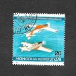 Sellos de Asia - Mongolia -  Acrobacia Aérea