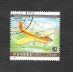 Stamps : Asia : Mongolia :  C138 - Campeonato Mundial de Acrobacia