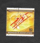 Sellos de Asia - Mongolia -  Avión