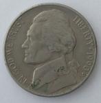 monedas de America - Estados Unidos -  1990 - five cents