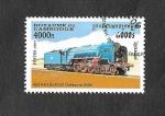 Stamps : Asia : Cambodia :  1636 - Locomotora