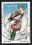Sellos de Europa - España -  Flora y fauna - Gorrión