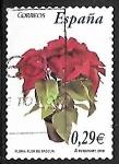 Stamps : Europe : Spain :  Flora y fauna - Flor de Pácua