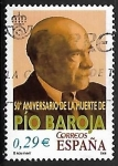 Sellos del Mundo : Europa : España : 50º aniversario de la muerte de Pío Baroja