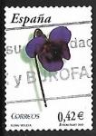 Stamps : Europe : Spain :  Flora y Fauna - Violeta