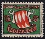 Sellos de Europa - Mónaco -  Escudo de armas de los Grimaldi
