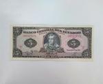monedas de America - Ecuador -  1988 cinco sucres