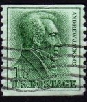 Stamps United States -  INT-ANDREW JACKSON