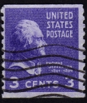 Stamps United States -  INT- THOMAS JEFFERSON 1801-1809