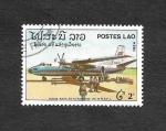 Stamps Laos -  IX Aniversario de la Fundación R.P.D.L.