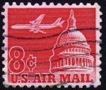 Stamps United States -  INT-CUPULA DEL CAPITOLIO