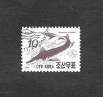 Stamps North Korea -  Esturión