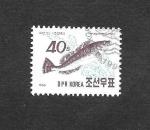Sellos de Asia - Corea del norte -  Pez