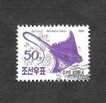 Stamps North Korea -  La Raya Águila
