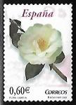 Stamps Spain -  Flora y Fauna - Camelia