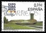 Stamps Spain -  Expo Zaragoza  2008