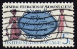 Stamps : America : United_States :  INT- GENERAL FEDERATION OF WOMEN