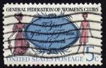 Sellos del Mundo : America : Estados_Unidos : INT- GENERAL FEDERATION OF WOMEN'S CLUBS