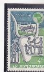 Sellos de Asia - Madagascar -  SCOUTISMO