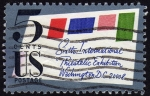 Stamps : America : United_States :  RES- SIXTH INTERNATIONAL PHILATELIC EXHIBITION- WASHINGTON DC.