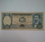 monedas de America - Bolivia -  1981- 500 Bolivianos