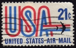 Stamps America - United States -  INT- USA-UNITED STATES AIR MAIL