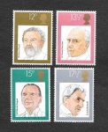 Stamps United Kingdom -  920-923 - Directores de Orquesta