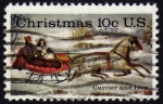 Stamps : America : United_States :  INT-CHRISTMAS-CURRIER AND IVES